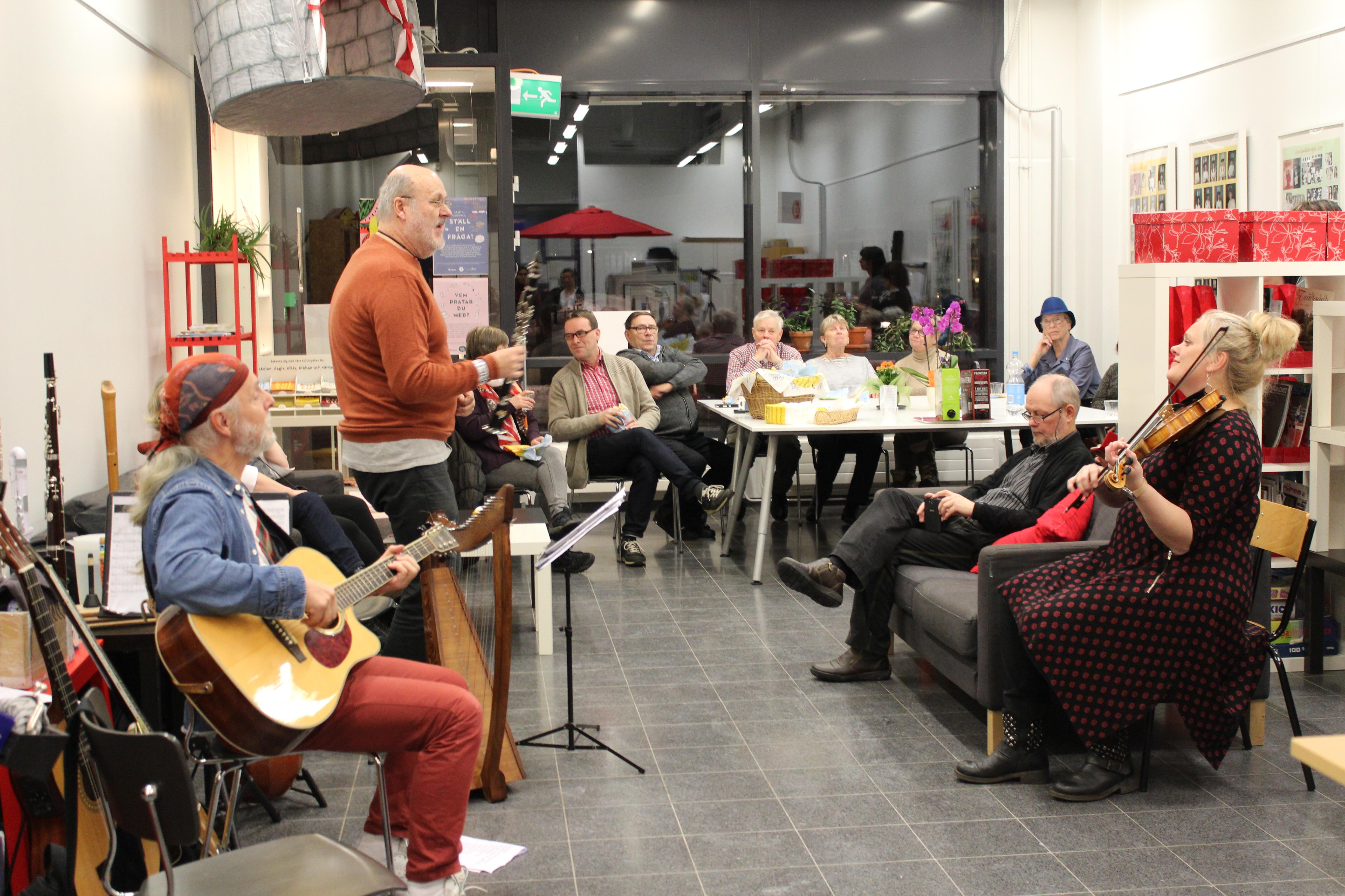Luckan Kyrkslätt deltar i Svenska veckan