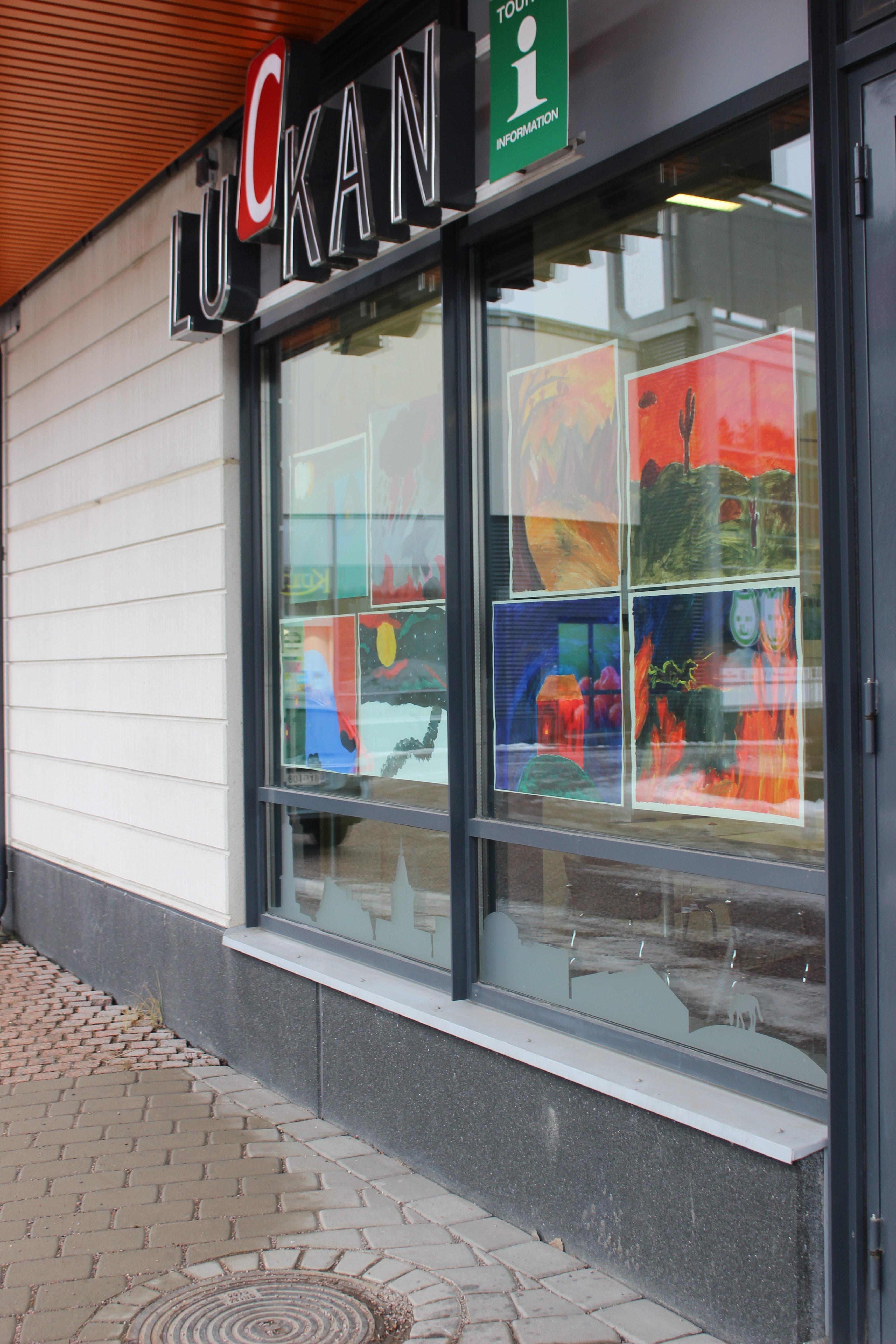 Finland100: Konstskolan ställer ut i Luckan