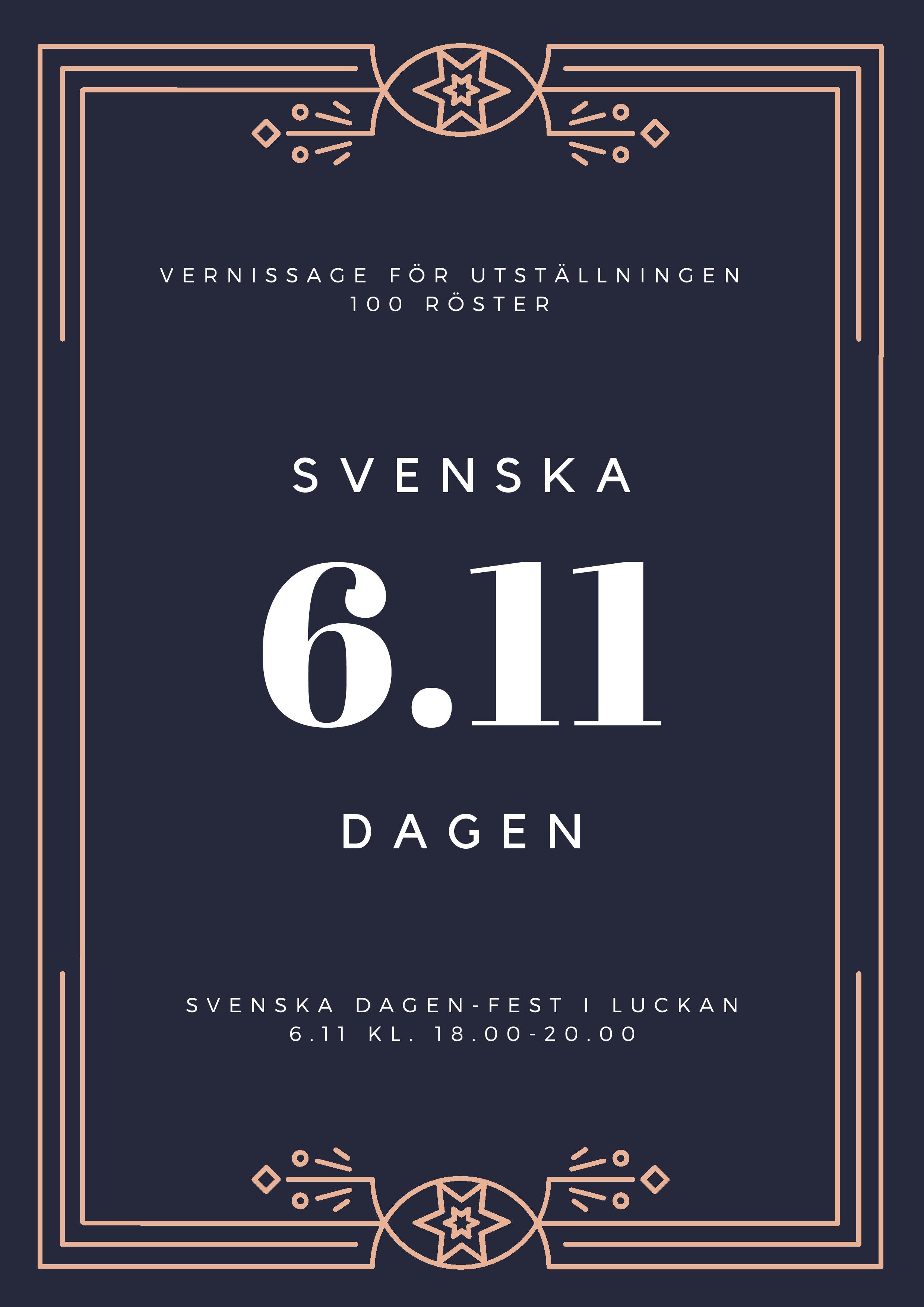 Svenska dagen-fest