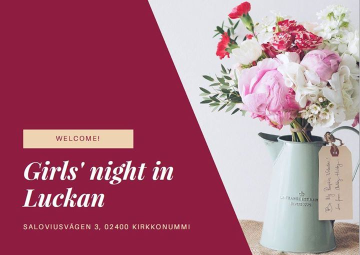 Tjejkväll i Luckan – välkommen med!