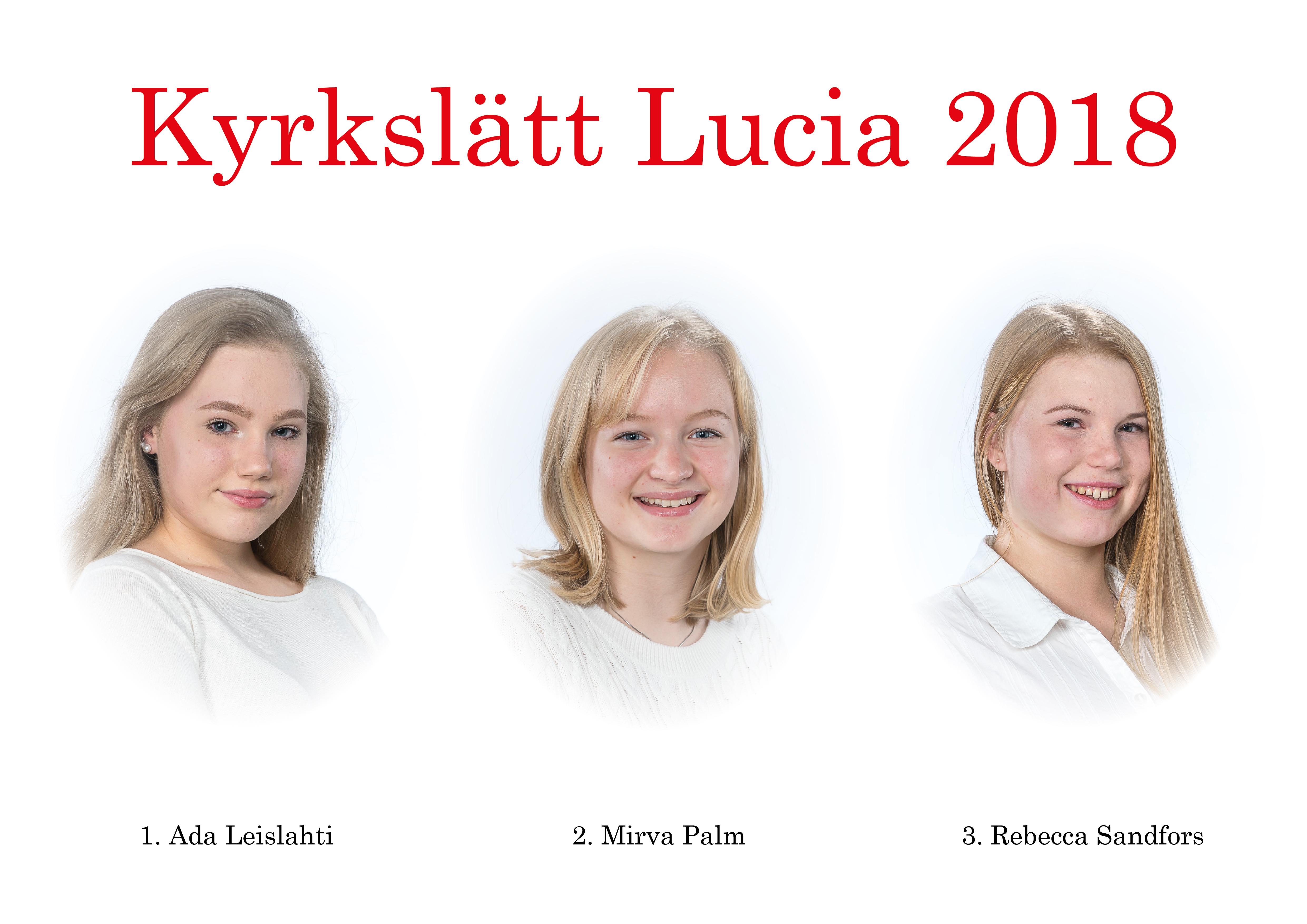 Kyrkslätts Lucia 2018