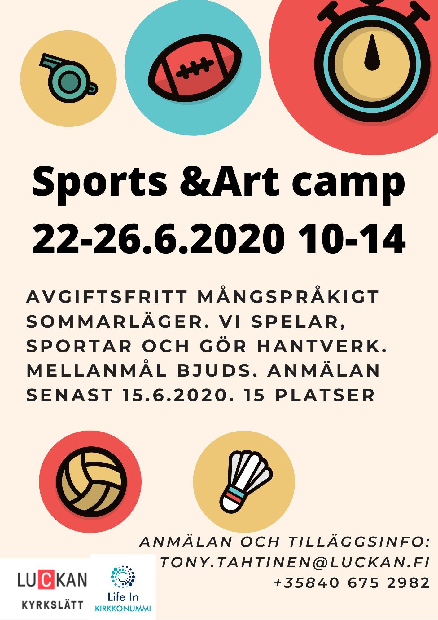 Kom med på vårt flerspråkiga läger!