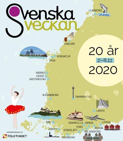 Svenska veckan fyller 20 år